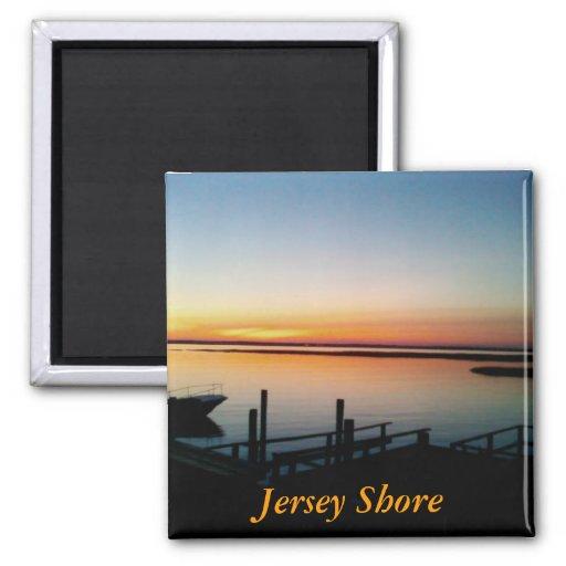 Jersey Shore Sunset Magnet