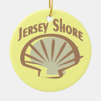Jersey Shore Vintage Christmas Tree Ornament