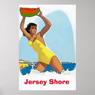 Jersey Shore, Watermelon Keep Away, change text Poster