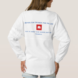 jersey spirit shirt - Republican Women for Hillary
