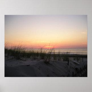 Jersey Sunrise Poster
