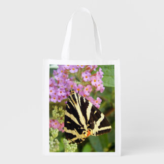 Jersey Tiger Butterfly Reusable Bag