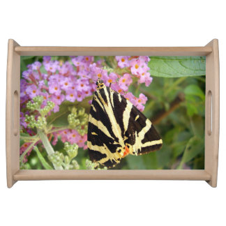 Jersey Tiger Butterfly Serving Tray