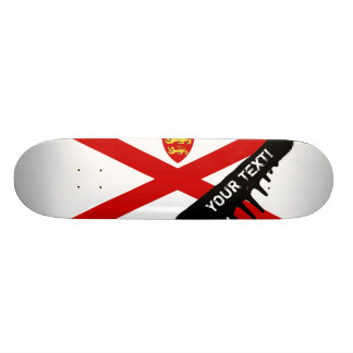 Jersey U.K. flag Skate Board Decks