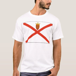Jersey (UK) Flag T-Shirt