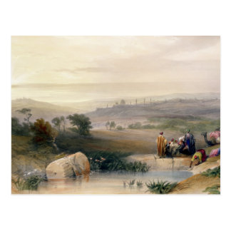 Jerusalem, April 1839, plate 22 from Volume I of ' Postcard
