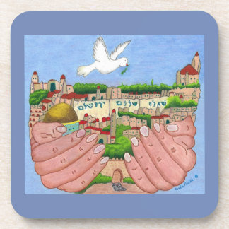 Jerusalem Art Coasters