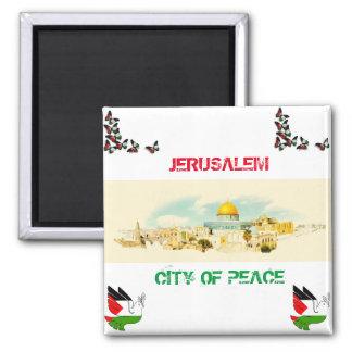 Jerusalem City Of P[eace Fridge Magnet Souvenir