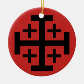 Jerusalem Cross Christmas Ornament