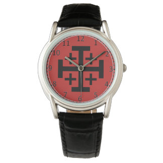 Jerusalem Cross Custom eWristwatch Watch