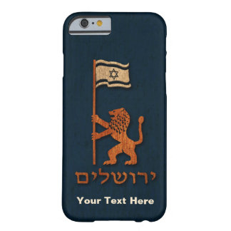 Jerusalem Day Lion With Flag Barely There iPhone 6 Case