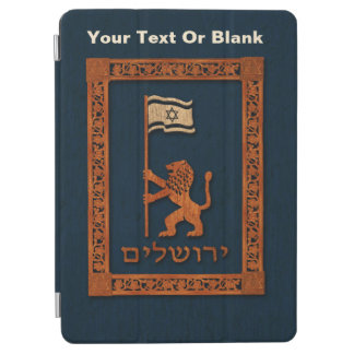 Jerusalem Day Lion With Flag iPad Air Cover