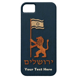 Jerusalem Day Lion With Flag iPhone 5 Cases