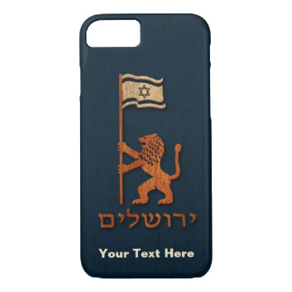 Jerusalem Day Lion With Flag iPhone 7 Case