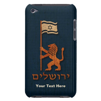Jerusalem Day Lion With Flag iPod Touch Case