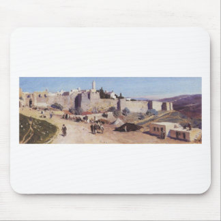 Jerusalem from the west. Jaffa Gate Mouse Pad