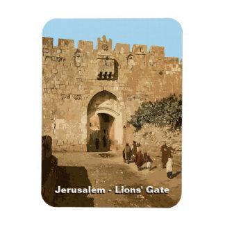 Jerusalem - Lions' Gate Magnet