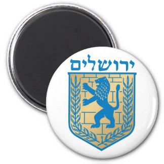 Jerusalem t arms, Italy Magnet