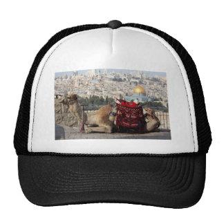 Jerusalem, world of colos, Holy City Trucker Hat