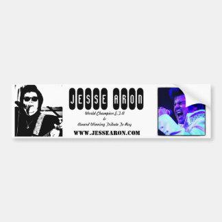 Jesse Aron Bumper Sticker