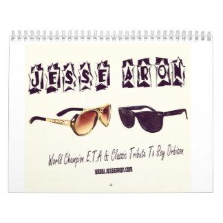 Jesse Aron Custom Printed Calendar