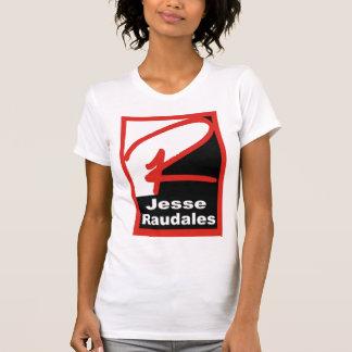 Jesse Raudales Red Logo Shirt