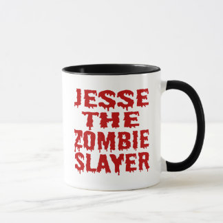 Jesse The Zombie Slayer Mug