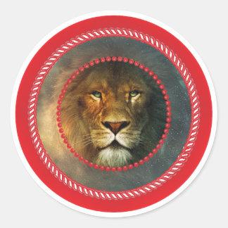 Jesse Tree Lion Sticker