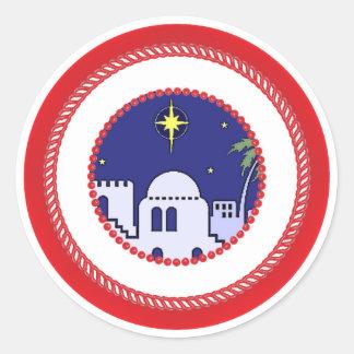 Jesse Tree Town of Bethlehem Sticker