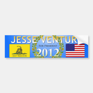Jesse Ventura for President 2012 Bumper Sticker