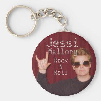 Jessi Mallory Rock & Roll Key Chain