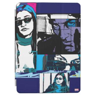 Jessica Jones Comic Panels iPad Air Cover