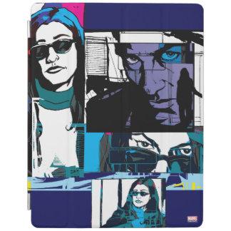 Jessica Jones Comic Panels iPad Cover