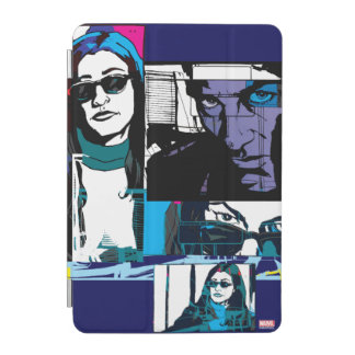 Jessica Jones Comic Panels iPad Mini Cover