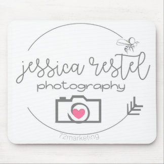 Jessica Restel Photography Logo Mousepad