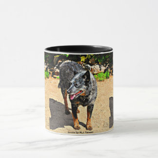 Jessie Blue Heeler Coffee Mug