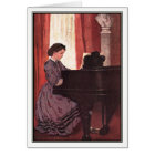 Jessie Willcox Smith - Beth at the Piano Card