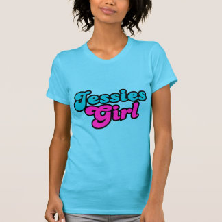 Jessies Girl Flirt 80s Retro T-Shirt