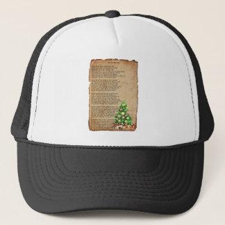 Jest 'Fore Christmas poem by: Eugene Field Trucker Hat