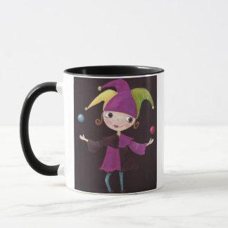 Jester Girl Mug