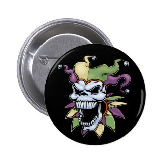Jester II 6 Cm Round Badge