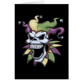 Jester II Greeting Card