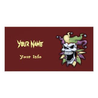 Jester II Personalized Photo Card