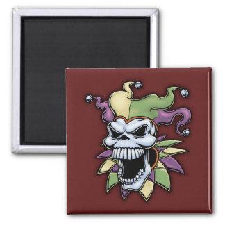 Jester II Square Magnet