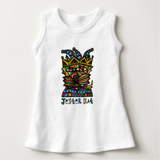 """Jester Kat"" Baby Sleeveless Dress"