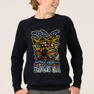 """Jester Kat"" Boy's American Apparel Sweatshirt"