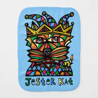 """Jester Kat"" Burp Cloth"