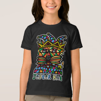 """Jester Kat"" Girls' American Apparel T-Shirt"
