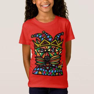 """""""Jester Kat"""" Girls' Fine Jersey T-Shirt"""