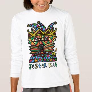 """""""Jester Kat"""" Girls' Sport T-Shirt"""